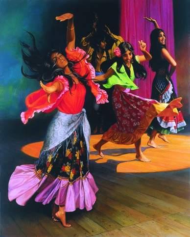 Цыгане цыганский танец